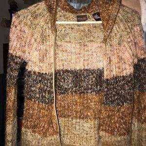 Hooded zip-up BKE Sweater